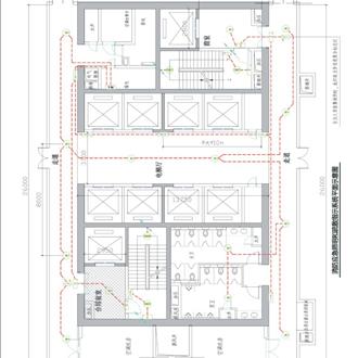高层办公建筑自带乐天堂网集中控制型系统