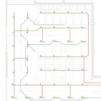 地下车库建筑自带乐天堂网集中控制型系统